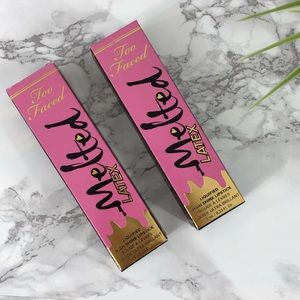 🆕TOO FACED  Lipgloss 'Safe Word' Lot of 2